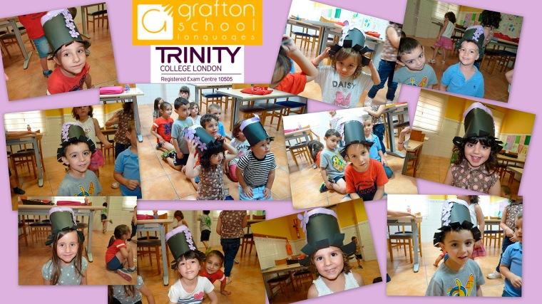 Algunos de nuestros alumnos/as de Trinity Stars